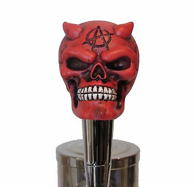 Anarchy Demon Beer Tap Handle Sports Bar Kegerator Resin Zombie Devil Custom New