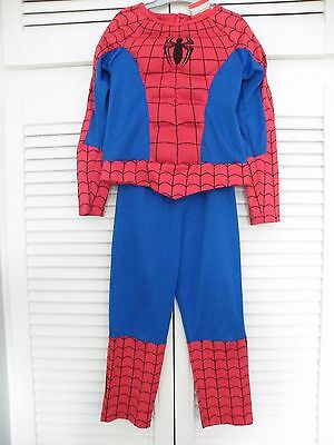"""""""SPIDERMAN"""" Costume - Age 5-6 Years From M&S"""