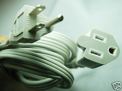 2 pcs 9 ft Appliance Electrical Extension Cord Indoor