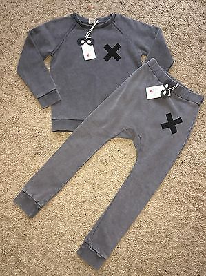 Beau Loves Raglan Jumper & Davenport Trousers, 6-7 years NEW WITH TAGS