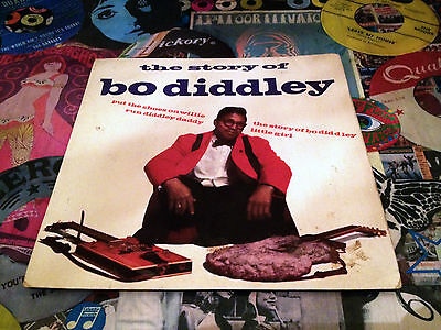 Bo Diddley EP - The Story of (Pye International NEP 44019) 1964
