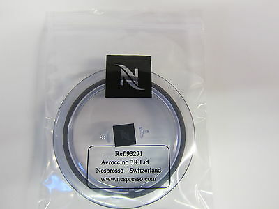 New Genuine Nespresso Aeroccino 3 Milk Frother Lid Part 93271 Fits 3593 & 3594