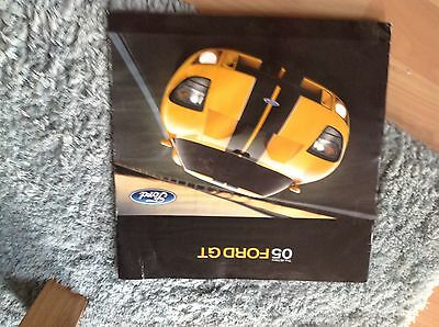 Ford Gt Brochure 2005