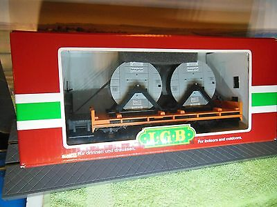 LGB 41025 Cable Drum wagon Excellent boxed condition.