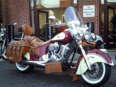 INDIAN CHIEF VINTAGE 2 TONE brand nw heavily accessorised