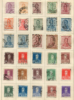 Old Stamps from Argentina