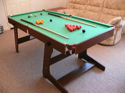 6 Ft Hypro Fold Away Snooker/pool Table