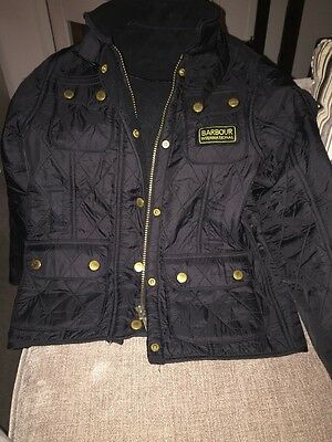 Barbour International Boys Jacket Size Small Age 6-7