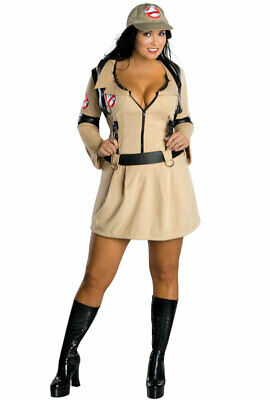 Ghostbusters Plus Size Ghostbusters Dress Adult Halloween Costume