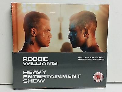 Robbie Williams - Heavy Entertainment Show - Deluxe  Cd + Dvd - Nuevo - Sealed