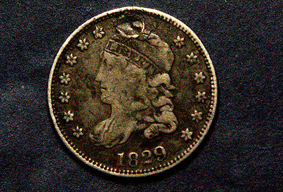 United States, Liberty Capped  Half-Dime, Silver, Usa, 1829 Coin