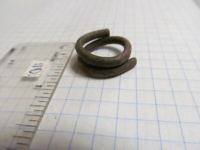 "Ancient bronze ring ""Nakosnik"" Vikings, Kievan Rus 10-13 AD №110."