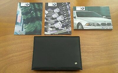 BMW 5 Series E39 Owners Manual / Handbook + Case / Wallet - (2000 - 2003)