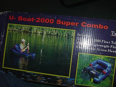 The Creek Company U-Boat 2000 Super Combo  New In Open Box Never Used Look
