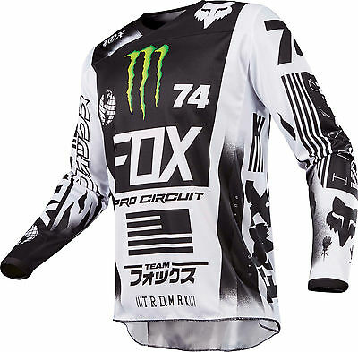 Fox Racing 180 Monster Pro Circuit SE Jersey Men's Motocross/MX/ATV/BMX Off-Road