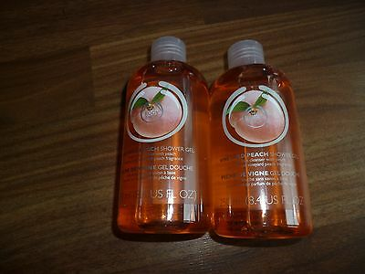 The Body Shop Vineyard Peach Shower Gel 250 ml x2