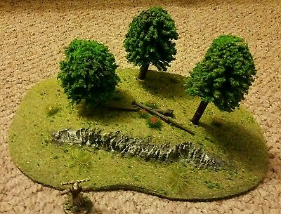 wargame scenery wooded hill