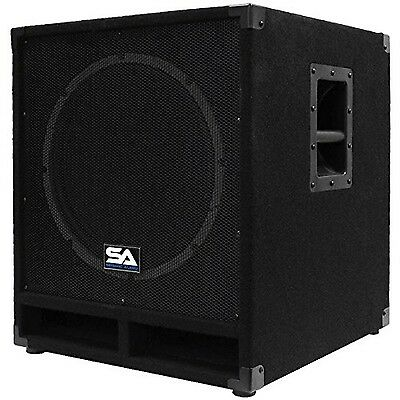 Seismic Audio-BaBy-Tremor_PW-Powered 15-Inch Pro Audio Subwoofer Cabinet-300 ...
