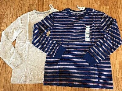 NWT Old Navy Boys 2 Long sleeve T Shirts. Size L (10-12)