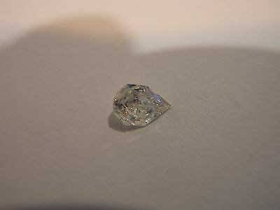 GIA Graded Certified Pear Diamond .31 Carat, SI2 Clarity, H Color VERY WHITE!!