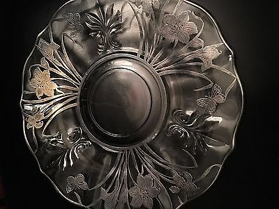 Sterling Silver Engraved Plate
