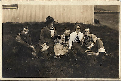 WW1 wounded soldier group 24th Manchester Regiment Oldham Pals