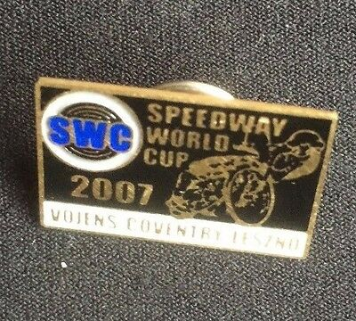 Speedway badge World Cup 2007 Vojens Coventry Leszno