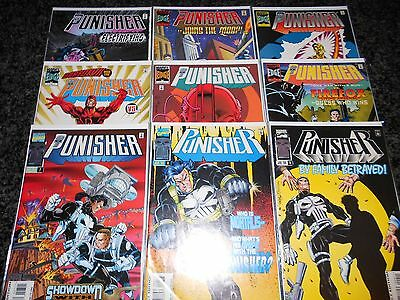 Punisher (1995 series) #1 - #9 (9 issue lot)