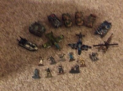 Micromachines Military Lot Figures And Vehicals