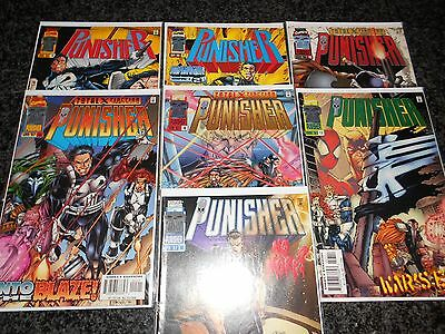 Punisher (1995 series) #10 - #18 (7 issue lot)