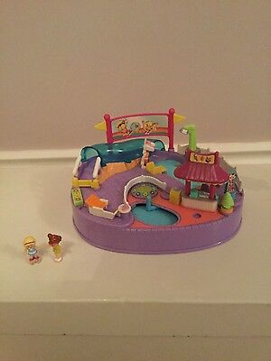 Vintage Polly Pocket magnetic Swimabout by bluebird, complete
