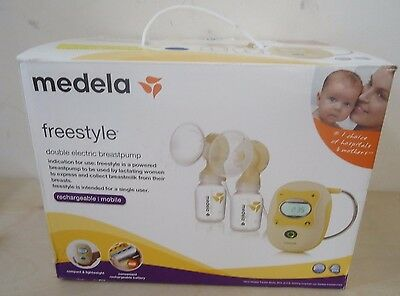 Medela Freestyle Double Electric Breastpump New Open Box