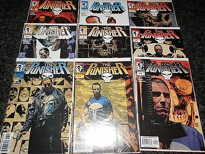 Punisher (5th series) #1 - #9 (9 issue lot)