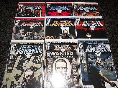 Punisher (6th series) #1 - #9 (9 issue lot)
