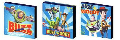 Toy Story  Buzz And Woody - Canvas Art Blocks/ Wall Art Plaques/pictures