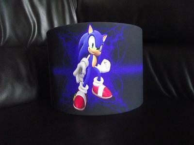 "Sonic The Hedgehog 10"" Drum Ceiling Lampshade Lightshade"