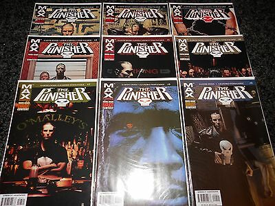 Punisher (7th series) #1 - #9 (9 issue lot)