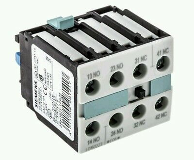 Siemens Front Mount Auxiliary Contact with Screw Terminal, 2NO/2NC, 6 A