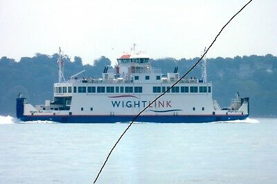 Ship/shipping Photo,ferry Photograph,isle Of Wight Picture,lymington Vessel,ryde