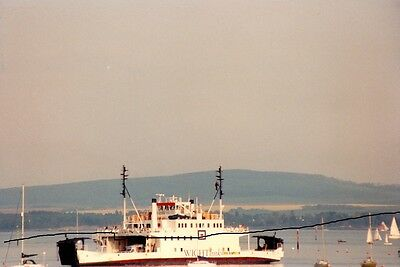 Ship/shipping Photo,lymington Ferry Photograph Of An Isle Of Wight Ves Picture.