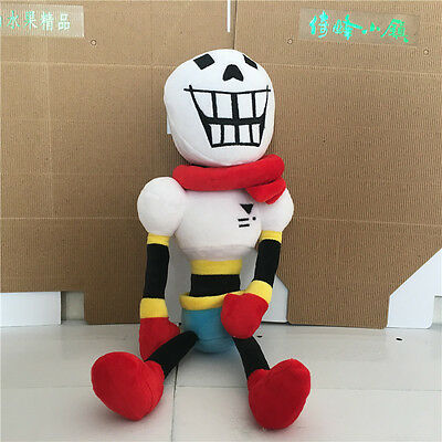 Great Game UNDERTALE PAPYRUS PLUSH DOLL STUFFED SOFT TOY 15''