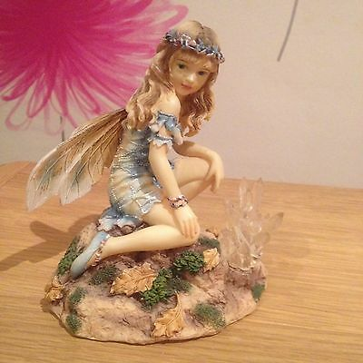 Faerie Poppets By Christine Haworth Rare Retired The Crystal Keeper Faerie
