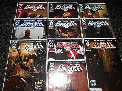 Punisher (7th series) #10 - #19 (10 issue lot)
