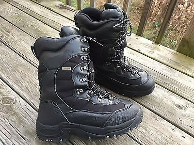 Cabela's INFERNO 2000 Gram Pac Boots Men's Size 13 D Black Hunting/Outdoor