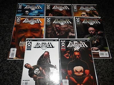 Punisher (7th series) #31 - #39 (8 issue lot)