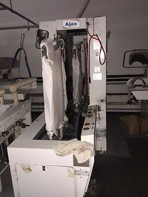 Ajax Double Buck Shirt Press Finisher Dry Cleaning
