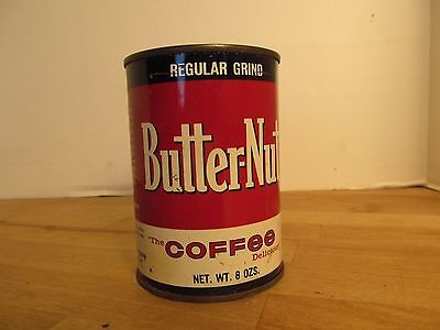 Butter-Nut Coffee Can 8 oz Plastic Lid 4.5""