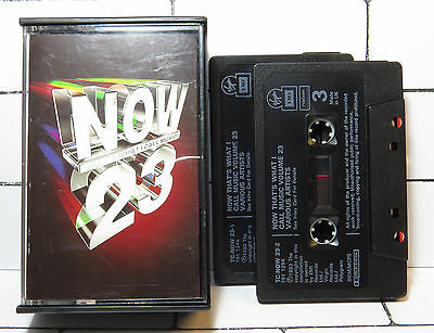 Now Thats What I Call Music 23 - Double Cassette Tape - Album - Tested