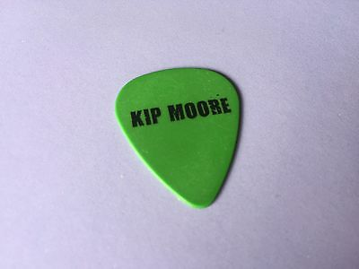 KIP MOORE Wild Ones Tour Stage Used GUITAR PICK 2016 Rare Plectrum