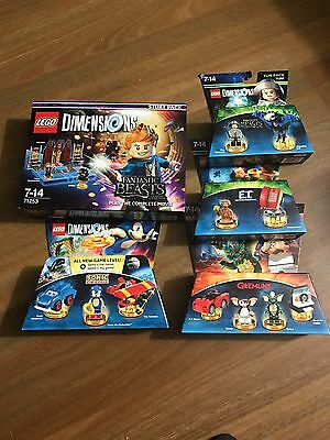 Lego Dimensions Wave 7 New 71253 71257 71244 71256 71258